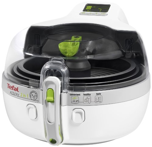 Tefal YV9600 Heißluft-Fritteuse ActiFry 2in1, weiß