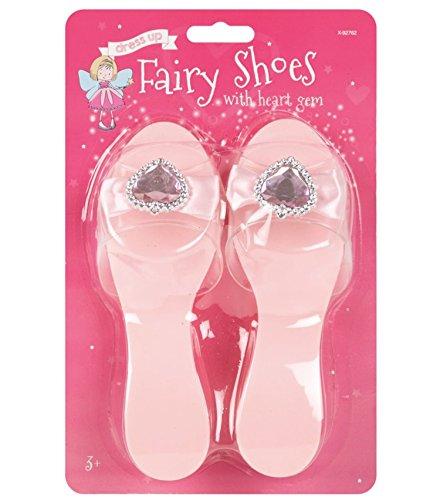 (Little Helper wdx92762-pink Super Niedlicher verkleiden Prinzessin Fairy Schuh–Pink, 3Jahre +, One size)