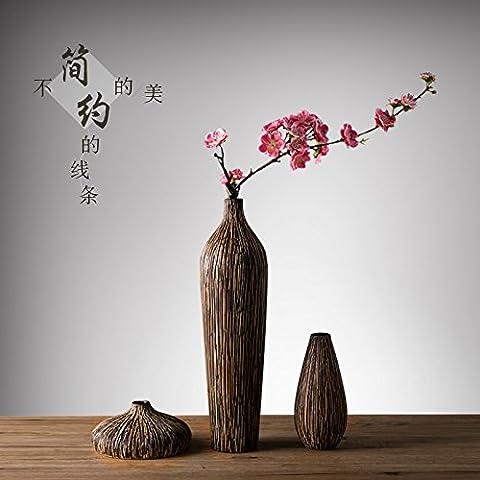 Vasi di reddito vasi di fiori arte floreale liberty vaso + 3 pezzo di fiori di rosa fiori di