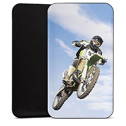 DeinDesign Alcatel A 3 XL Hülle Tasche Sleeve Socke Schutzhülle Motocross Motorrad Motorsport