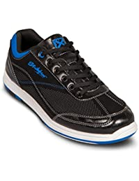 KR Strikeforce Herren Titan Bowling Shoes- Schwarz/Royal