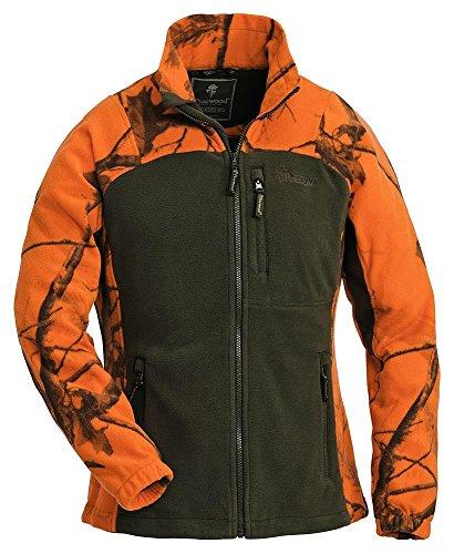 pinewood-8762-oviken-veste-en-polaire-pour-femme-taille-xs-realtree-ap-blaze-hd-r-vert