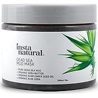 InstaNatural 13-B5MX-IBOZ, InstaNatural Dead Sea Mud Face Mask - 240 ml (Beauty)
