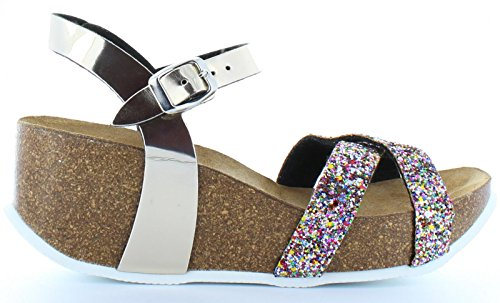 Sandali per Donna URBAN SO-16104 MULTICOLOR size-map 38