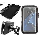 """Support et étui vélo / bicyclette pour Smartphones Samsung Galaxy S7 (5,1"""") et Samsung Galaxy S7 Edge (5,5 pouces) - Garanti 2 ans par DURAGADGET"""