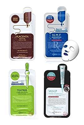 [MEDIHEAL] Korean Cosmetics Mask Sheet 4type, total 4pcs set by Mediheal
