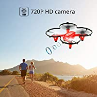 Holy Stone HS170C Mini Drone for Kids with Camera RC Quadcopter 720P Altitude Hold Function, Headless Mode, 3D Flips