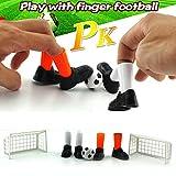 AmaMary Football de Doigt, Partie de Jeu idéale de Match de Football de Doigt de Partie drôle de Jeu de Jouet de Doigt définit avec Deux buts