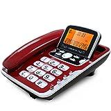 Phone Schnurgebundenes Telefon mit Anrufer-ID/Freisprecheinrichtung Extra großes Neigungsdisplay/Festnetztelefon Display mit Hintergrundbeleuchtung/Tasten YHX (Farbe : 1#)