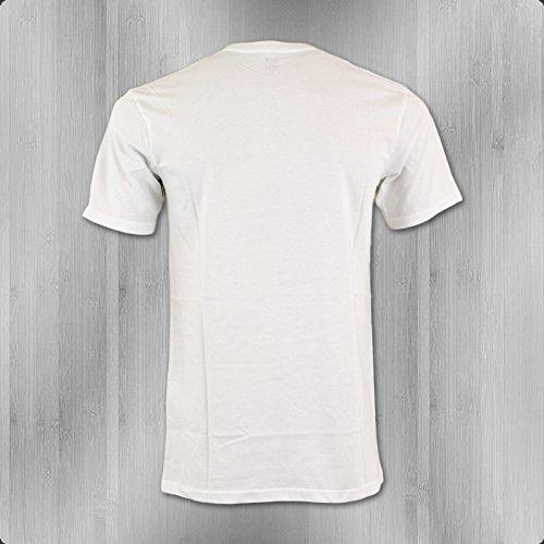 DC Shoes T-Shirt Herren Fall Off white - fällt normal aus und lang White