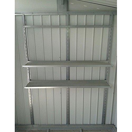 Regal Regal-Set für das Metall-Gerätehaus Palladium