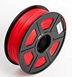 #5: Techie PLA Filament 1KG Roll (1.75mm Diameter) for 3D Printers(Red)