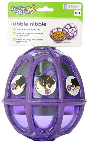 PetSafe - Jouet pour Chien Busy Buddy Kibble Nibble (M/L), Boule Distributrice de Nourriture et Friandises pour Chien Moyen et Grand