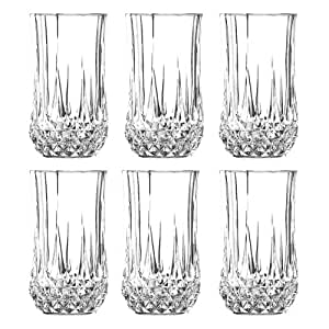 cristal d 39 arques longchamp boisson longue verre 280ml. Black Bedroom Furniture Sets. Home Design Ideas