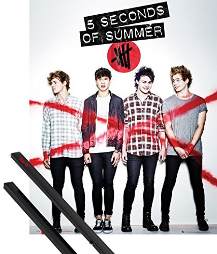 pster-soporte-5-seconds-of-summer-pster-mini-50x40-cm-she-looks-so-perfect-album-cover-y-1-lote-de-2