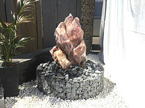 Quellstein / Findling / Einzigartiger Stein für Garten, Brunnen oder Teich EINZELSTÜCK