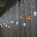 3.5M 5M Led curtain light Halloween decoration Pumpkin 4Shapes Fairy light for Party Wedding Holiday Christmas Decoration Light