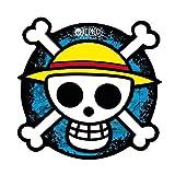 One Piece - Mausmatte Mauspad - Totenkopf - Luffy Logo - 21,5 cm