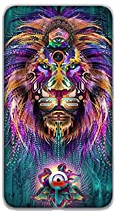 The Racoon Lean The Lions Gaze hard plastic printed back case / cover for Nokia Lumia 625