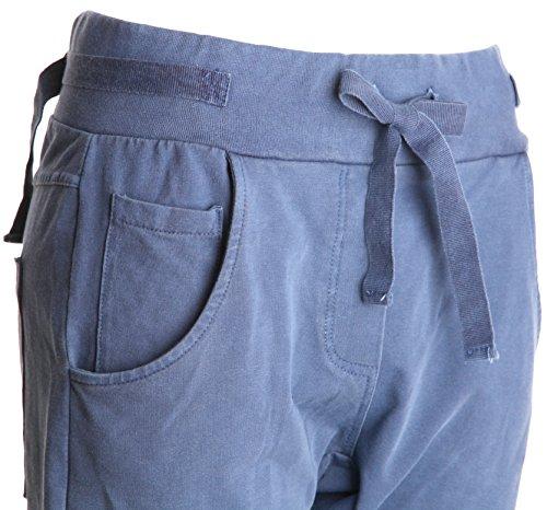 Basic.de -  Pantaloni  - Donna Jeansblau-Hell Stonewashed