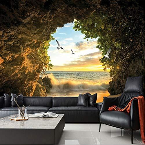 Preisvergleich Produktbild Wh-Porp 3D Foto-Hintergrund für Keller Natur Landschaft Tv Hintergrund Tapete für Wohnzimmer Schlafzimmer Hintergrund Kunst
