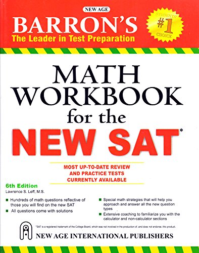 Barrons Math Workbook for the New SAT