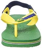 Havaianas Brasil Logo, Unisex Babies' Standing Baby Sandals, Green (Green 2703), 8.5 Child UK (27/28 EU) (25/26 BR) Bild 4