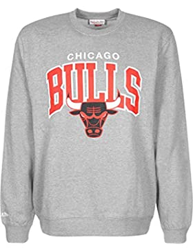 Mitchell & Ness Team Arch Crew Chicago Bulls Sweater