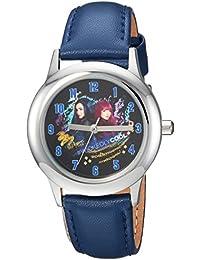 Disney Boy's 'Descendants 2' Quartz Stainless Steel Casual Watch, Color:Blue (Model: WDS000252)