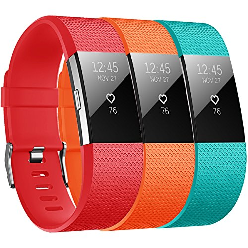 Bepack Correa Compatible con Fitbit Charge 2