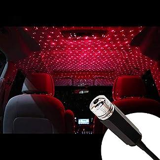 GTWCK [aggiornamento 2019] Romantica luce a stella USB, regolabile in varie modalità, luci LED per tettuccio auto, luci atmosferiche per soffitto, camera da letto, compleanni, decorazione per feste