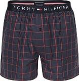 Tommy Hilfiger Woven Window Pane Boxershorts navy