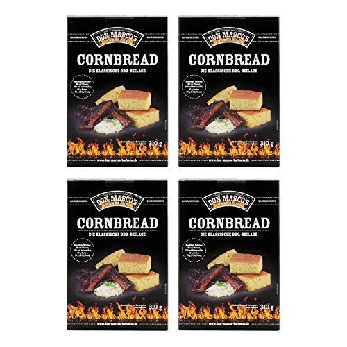 Don Marco`s KS0021 Don Marco´s Barbecue Cornbread Backmischung 4er-Set