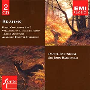 Brahms: Piano Concertos Nos 1 & 2