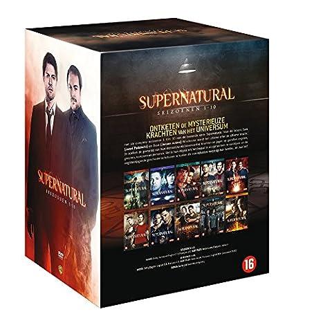 Supernatural L'intégrale des saisons 1 à 10 (Import Langue