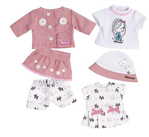 Nenuco Super set de ropa, 35 cm (Famosa 700013740)