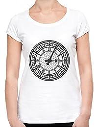Big Ben Clock Face Camiseta Mujeres