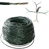 50m Outdoor Externe CAT5Ethernet Netzwerk Kabel Rolle/Drum–LAN UTP RJ45CCA–Cablefinder
