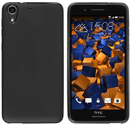 mumbi Hülle kompatibel mit HTC Desire 728G, schwarz