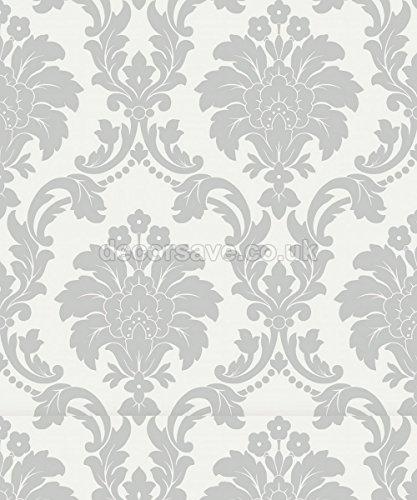 arthouse-opera-romeo-grigio-693503-carta-da-parati-disegno-damascato-metallico-fondo-argento