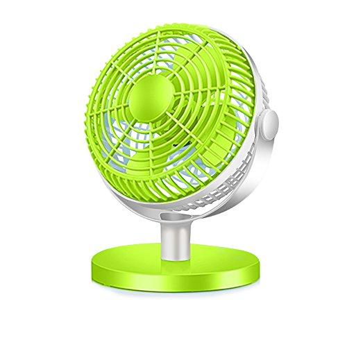 CivilWeaEU USB-Lüfter / Büro-Desktop-Computer-Desktop kleine Lüfter / Schüler Schlafsaal stumm Lüfter ( Farbe : Grün )