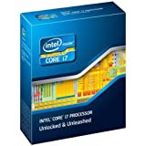 Intel Sandy Bridge E Processeur Core i7-3820 / 3.60 GHz 4 coeurs 10 Mo Cache Socket-LGA2011 Version Boîte