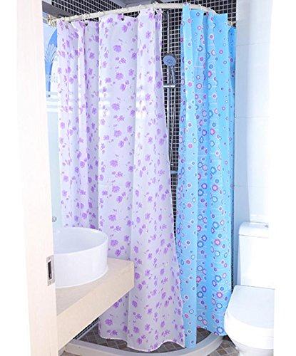 wasserdichte-anti-schimmel-polyester-duschvorhang-lila-blau-zwei