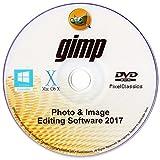 GIMP 2017 Photo Editor Premium Professional Image Editing Suite for PC Windows 10 8 8.1 7 Vista XP & Mac OS X