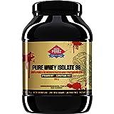 Pure Proteine ??Whey Isolate 96-100% Proteine ??del siero di latte microfiltrato - 990 g - Fragola