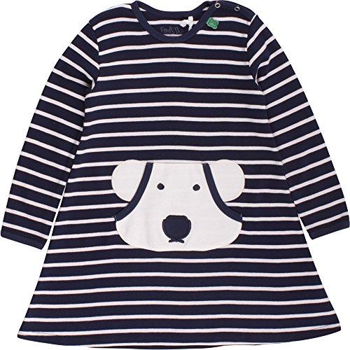 Fred's World by Green Cotton Baby-Mädchen Kleid Bear Stripe Dress Blau (Navy/Cream 0198000 Preisvergleich