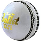 Acorn Cricket Bullet Leather Ball (White)