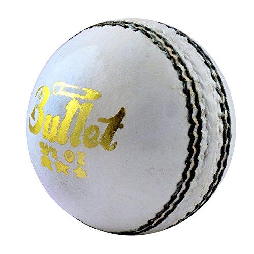 Acorn Cricket Bullet Leather Ball (White)