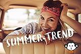FashionCHIMP Nicki-Halstuch aus 100% Baumwolle im 2er Set, Unisex Bandana, AZO-Frei