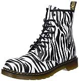 Dr. Martens Unisex-Kinder Delaney Y Zbr Klassische Stiefel, Mehrfarbig (Zebra Print 009), 37 EU